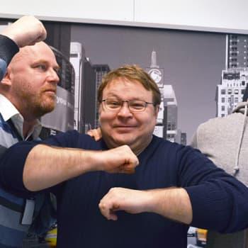 Lindgren & Sihvonen: Vieraana nyrkkeilyvalmentaja Pekka Mäki