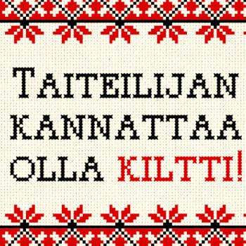 KulttuuriCocktail Puheessa: Taiteilijan täytyy Suomessa olla kiltti