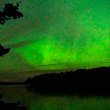 Luonto-Suomi.: Revontulia suorassa lähetyksessä