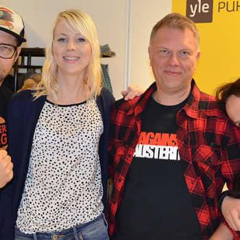Leinonen ja Rislakki: Me ollaan oikeesti maailman sanavapain maa