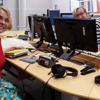 Radio Suomesta poimittuja: Heli Laaksonen: Ystävän kanssa suurinta huvia oli puhua kirjakieltä