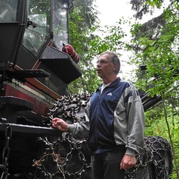 Metsäradio.: Metsäkonehommia ja työn muuttuminen