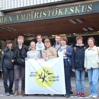 Eurooppalaisia puheenvuoroja: Kansalaistoimintaa puhtaan Itämeren puolesta Pietarissa