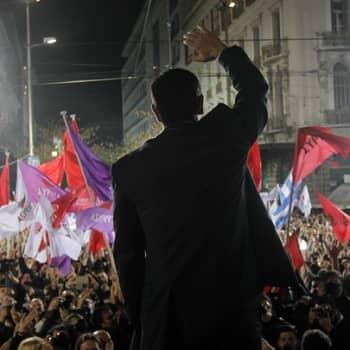 Maailmanpolitiikan arkipäivää: Eurooppa jännittää Kreikan vaalitulosta