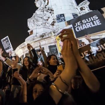 Maailmanpolitiikan arkipäivää: Satiirin puolesta terroria vastaan