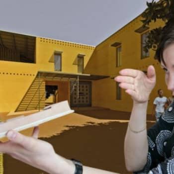 Rakenna minut: osa 5/10, Arkkitehti Saija Hollmén suuntaa kehittyviin maihin