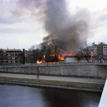 YLE Lahti: Heinolan Hovin räjähdys herätti dramaattiseen aamuun huhtikuussa 1978
