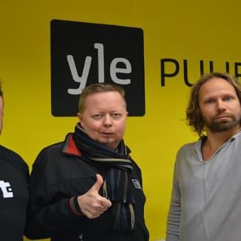 Riku ja Tunna - Docventures: Järkeä tekijänoikeuslakiin kansalaisaloite puhututti Rikua, Tunnaa ja Villeä.