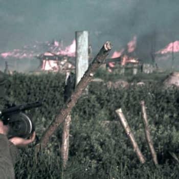 Kirjakerho: Jatkosodan rivit kirjailijan silmin