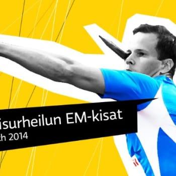 Yleisurheilun EM-kisat 2014: Yleisurheilun EM-kilpailut