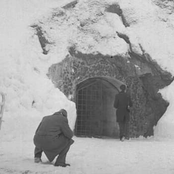 Kiertokäynti Porkkalassa 1956