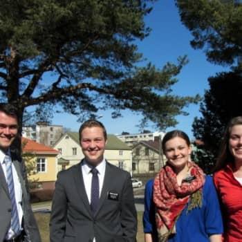 Jokapaikan Reetta: Mormonilähetyssaarnaajien arjessa