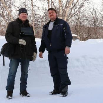 Luontoretki.: Kilpisjärvellä 150 senttiä lunta