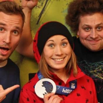 YleX Jälki-istunto: Vieraana slopestylessä hopeaa voittanut Enni Rukajärvi