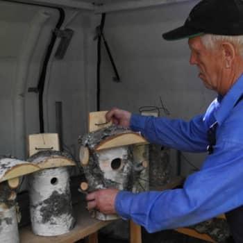 Metsäradio.: Pertti Pukarisen kestävät linnunpöntöt