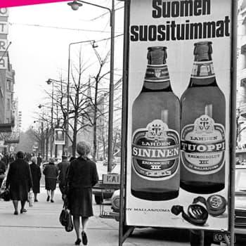 Maitokaupoissa oli ruuhkaa vuonna 1969, kun keskiolut vapautui