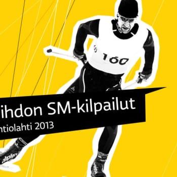 Hiihdon SM-kilpailut: Naisten ja miesten sprinttiviestien loppukilpailut