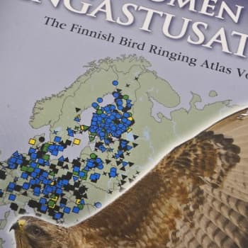 Luontoretki.: Suomen rengastusatlas