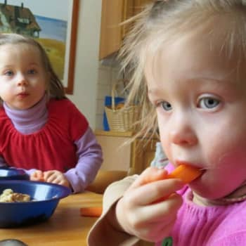Perheen aika: Tieto kaksosten saamisesta oli aluksi järkytys