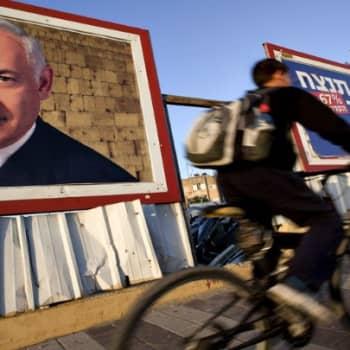 Maailmanpolitiikan arkipäivää: Vahvistuuko kova linja Israelin vaaleissa
