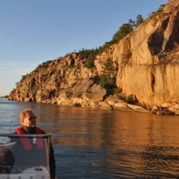 Luontoretki.: Merellä Pohjois-Ahvenanmaalla