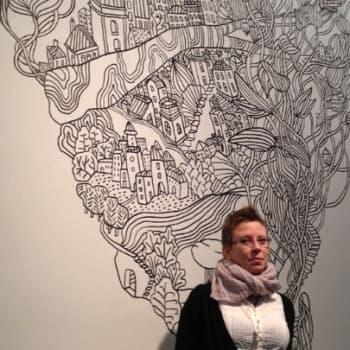 Taiteilijaelämää: Sarjakuvataiteilija Terhi Ekebom