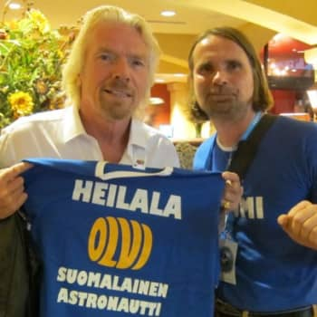 Yövieras: Vesa Heilalan haave avaruusmatkasta toteutuu