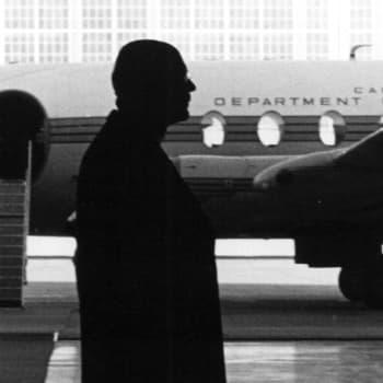 Presidentti Kekkosen puhe Kanadan ja Yhdysvaltain vierailunsa jälkeen (1961)