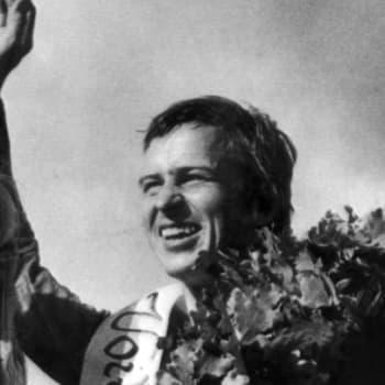 Moottoripyöräilijä Jarno Saarinen kuollut Monzassa (1973)