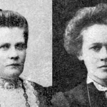 Ensimmäisen eduskunnan naiset: Maria Laine ja Mimmi Kanervo