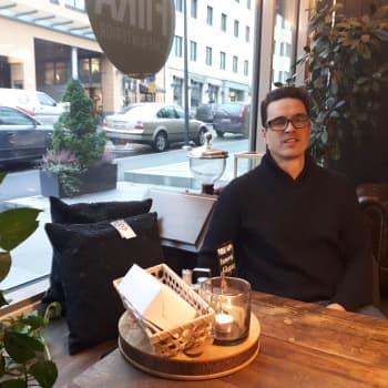 Jan-Gustav Björk i Jakobstad har gett ut magasinet Verktygsbacken - ett magasin om faderskap