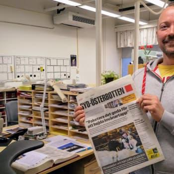 Tidningen Syd-Österbotten belönades som årets lokaltidning