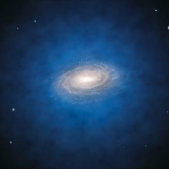 Saker man inte ser: Vart tog 95% av universum vägen?