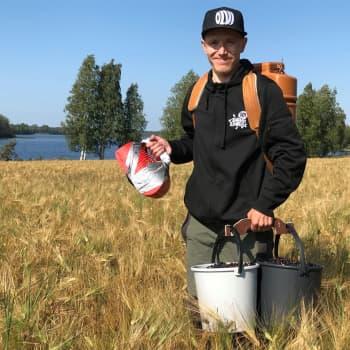 Tuhansien litrojen marjamies Mika Hujanen vie sadon ihmisten hyväksi