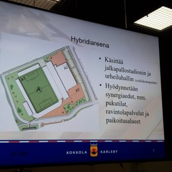 Kokkolan kaupunginhallitus näytti vihreää valoa urheilupuistosuunnitelmalle