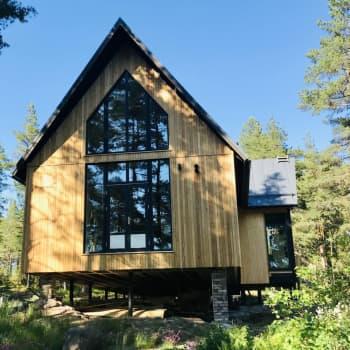 Hus är stora miljöbovar - så här byggde Fredrik Sjöblad klimatsmart