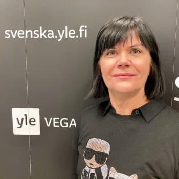 Sirke Muurimäki besöker studion