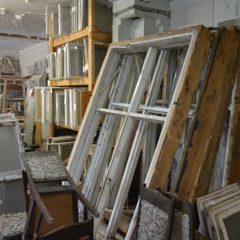 Många gamla hus i Pargas är skyddade och kräver en hel del förberedelser före renovering