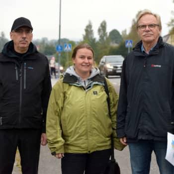 Sjundeåpolitker Susse Ekström och Åke Holmlund om hur man kunde locka nya invånare till kommunen