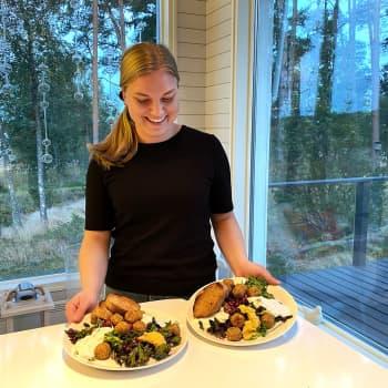 Opiskelijaruoka on muutakin kuin nuudeleita – Veronika Vainio ajattelee ruoanlaittoa harrastuksena