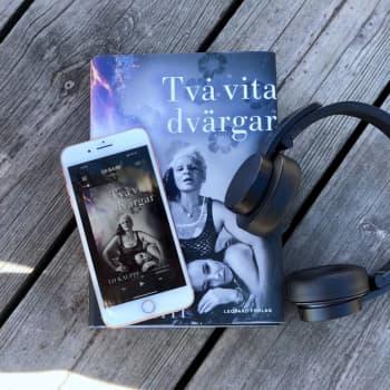 Lo Kauppi läser ur sin bok Två vita dvärgar