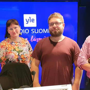 Oona Ilmolahden ja Samu Nyströmin Poikkeusaikoja-podcast tutkii kriisiaikojen Helsinkiä