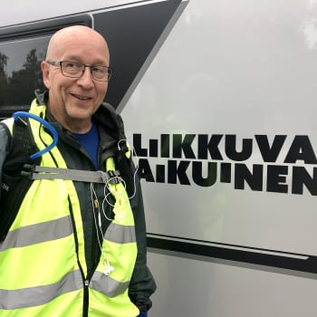 """Mies jäi eläkkeelle ja päätti kävellä Jäämereltä Itämerelle: """"Katsoin kartasta, että se on puhdas alamäki eikä isompi nyppylöitä"""
