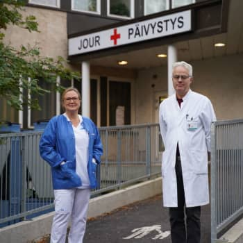 Sista dagen med samjour på Raseborgs sjukhus