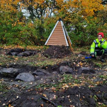 Arkeologiskt fynd i Lovisa - här hade Finlands sista tenngjutare sin verkstad