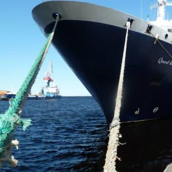 Oulun satamaan on tulossa talviristeilyaluksia – elämysristeilyjen matkustajat viedään tunturiin ja porotilalle
