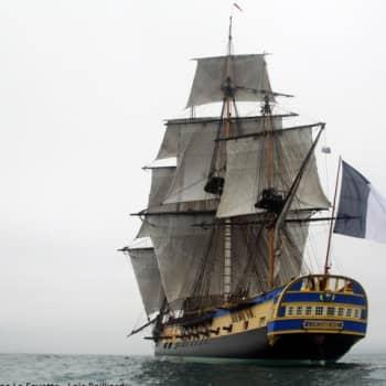 Ranskalainen purjelaiva L'Hermione: Merimiestaidot kunniaan
