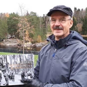 Kajaanilaislähtöisen Antti Rasilon sotahistoriakirja nyt valmis