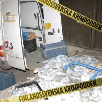 När svenskarna rånade godisbutiken Finland, del 2/3: Det regnar pengar på bankens bakgård