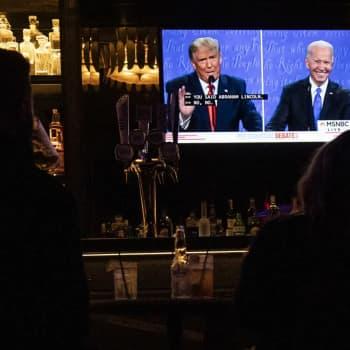 """Trumpin ja Bidenin viimeinen väittely: """"sisäsiistiä ja maltillista,Trumpin oli pakko kokeilla jotain uutta"""""""